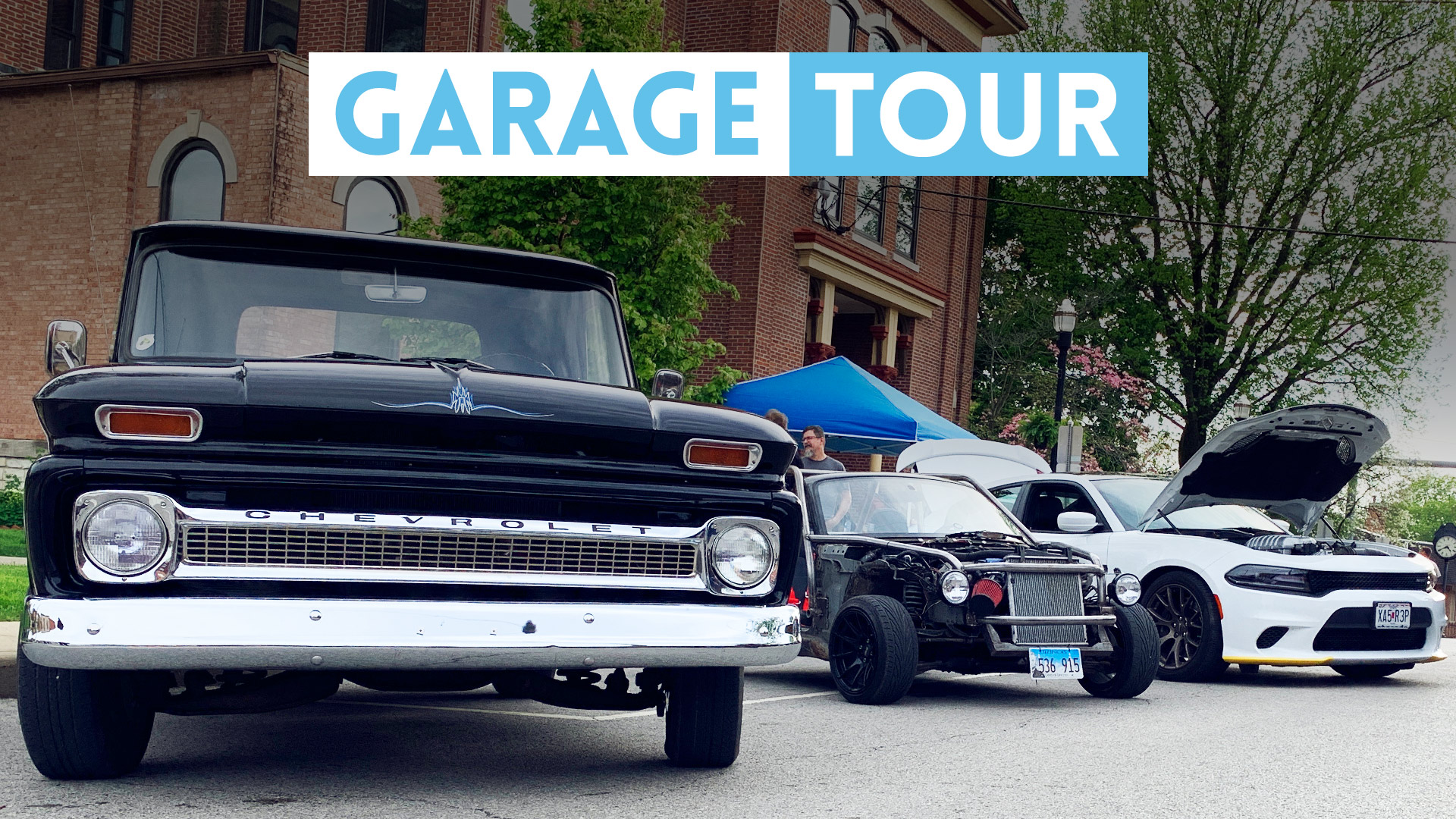 GARAGE TOUR: Every Current Blvckflagd Project Car