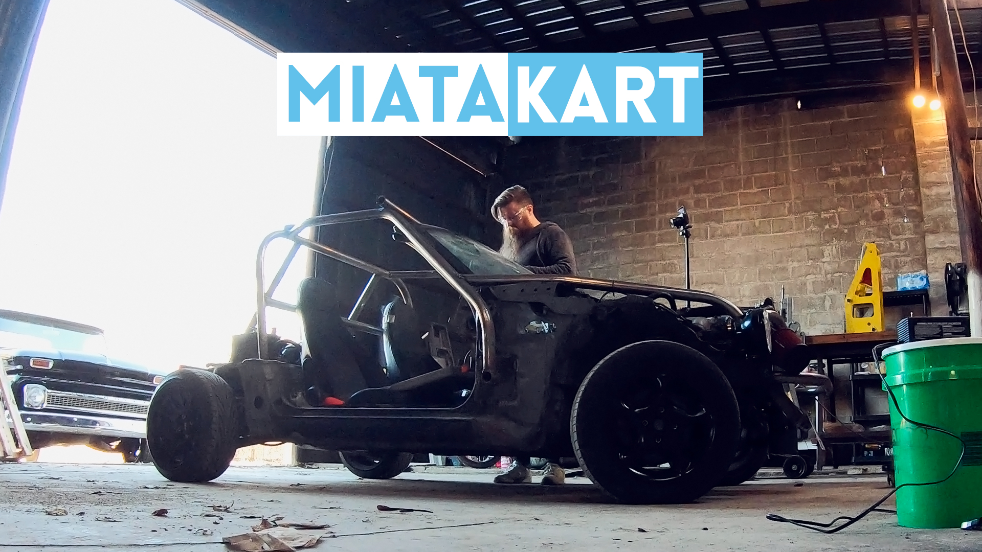 Fabricating a Miata Kart Roll Cage in Time for Zip Tie Drags