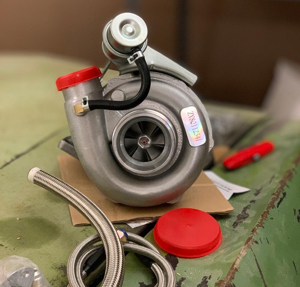 maXpeeding rods cheap ebay turbo with oil line kit