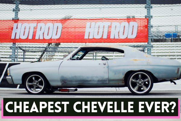 cheap 1971 chevelle muscle car