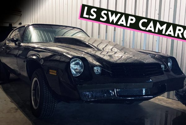 2nd gen camaro ls swap project