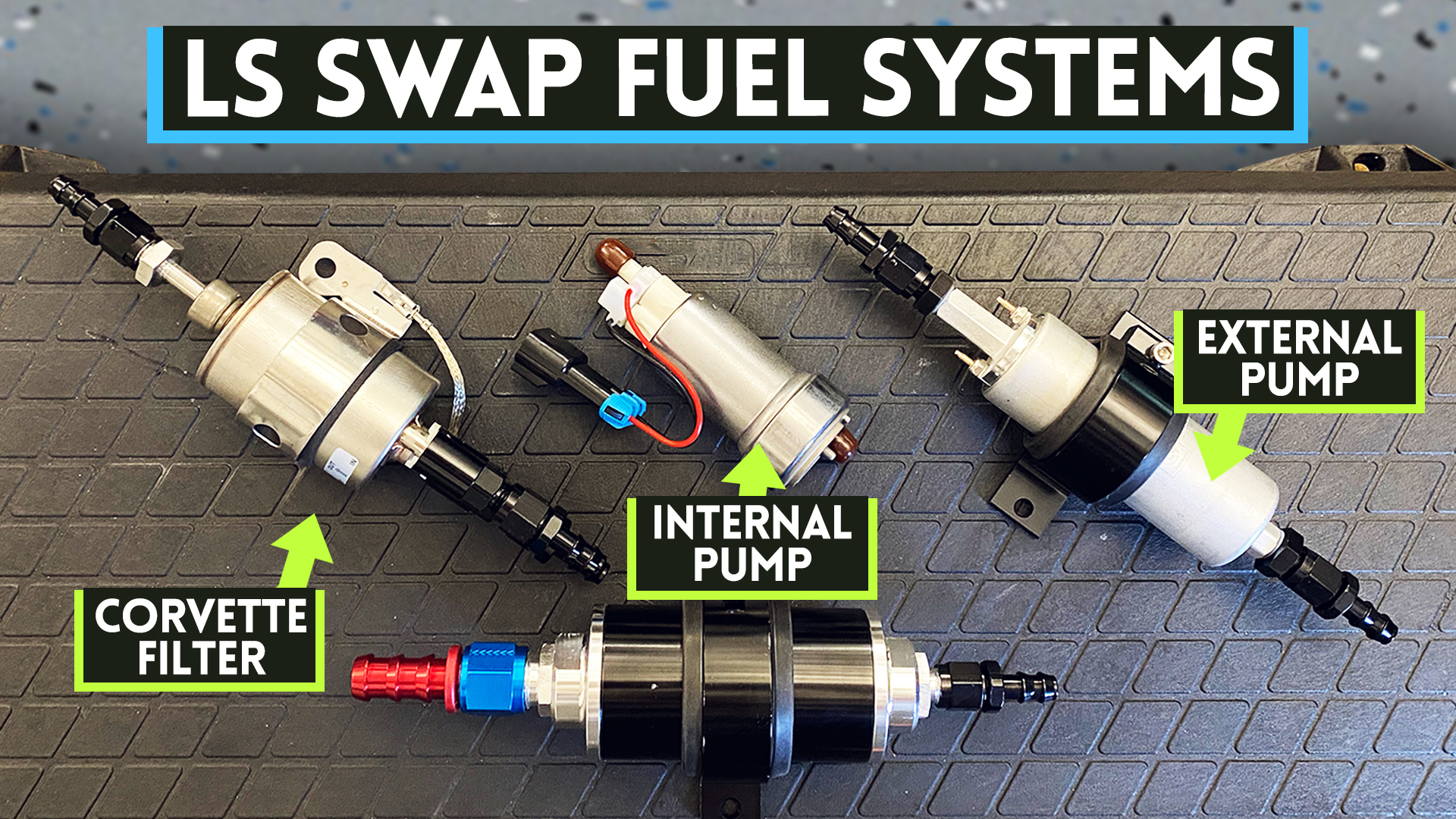 2 LS Swap Fuel Systems YOU can build on the cheap