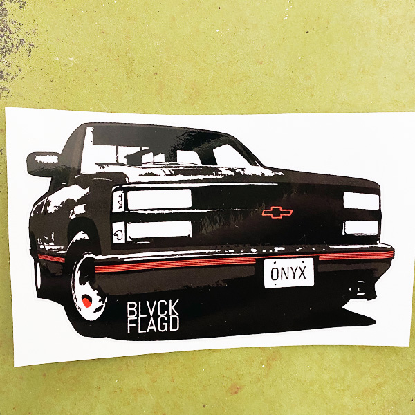 black-chevy-truck